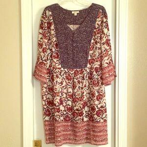 Style & Co XXL Boho Dress